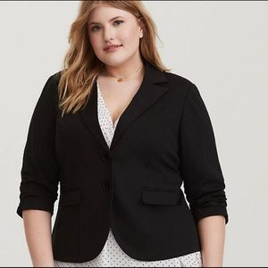 Torrid woman's plus size blazer